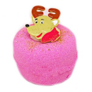 Reindeer Treats Fizzy Bath Bomb Donut VEGAN